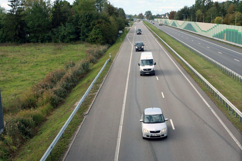 """Bus rengiamas investicinis projektas šios infrastruktūros įrengimui tarptautiniuose transporto koridoriuose """"Via Baltica"""" ir """"Rail Baltica"""".<br>M.Patašiaus nuotr."""