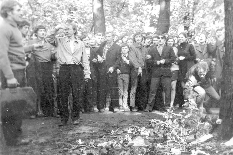 1972 metų antisovietiniai įvykiai Kaune. Romas Kalanta Laisvojo Lietuvos jaunimo manifestas<br>kiti