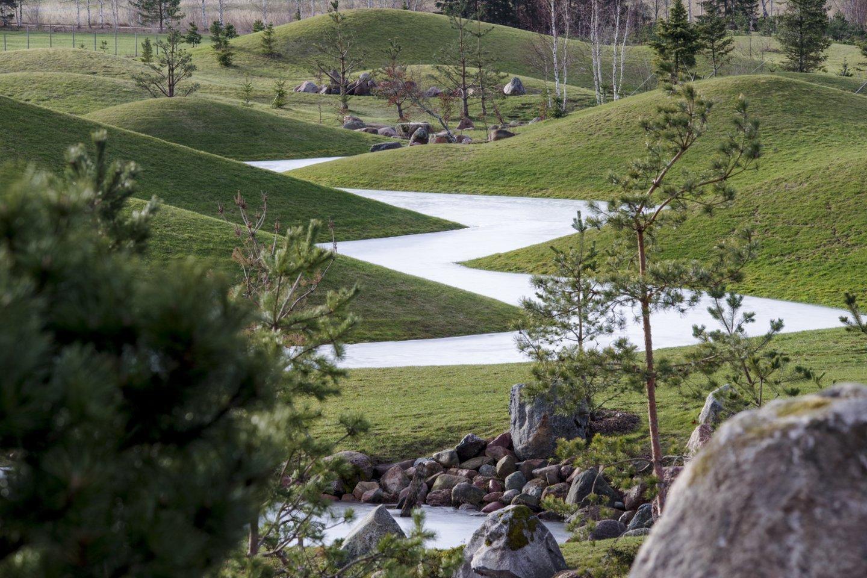 Japonišką sodą įrengti Alytuje per pastaruosius 20 metų jau svarstyta keletą kartų, tačiau idėja iki šiol nebuvo išpildyta.<br>V.Ščiavinsko nuotr.