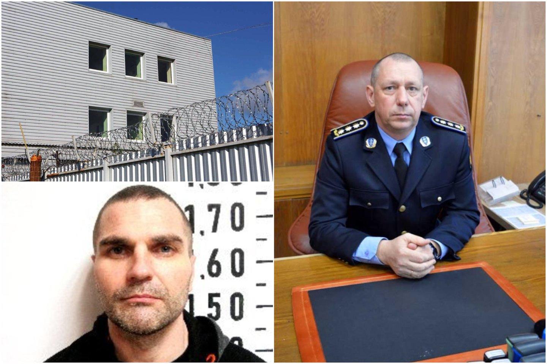 Rolandą Kazakevičių Pakruojo rajone sulaikė Kalėjimų departamento Kriminalinės žvalgybos pareigūnai kartu su policija.<br>Lrytas.lt koliažas
