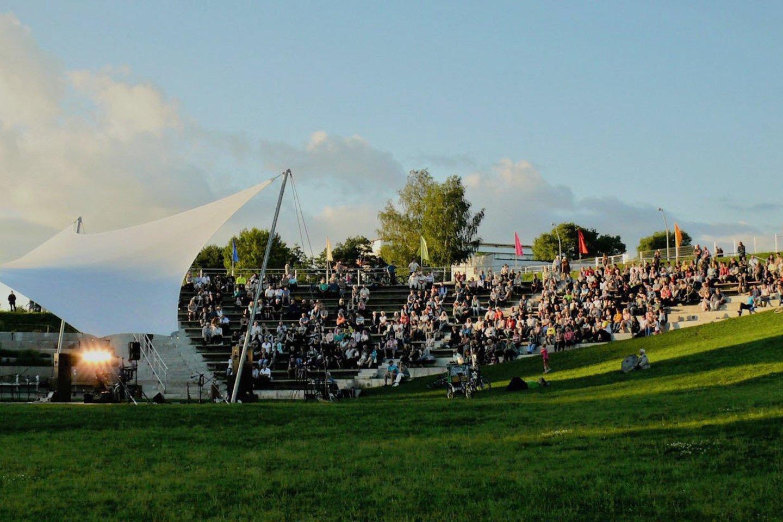 Kalnų dviračių trasa bus įrengta greta Joninių slėnio.<br>Feisbuko nuotr.