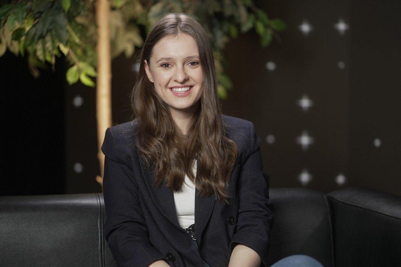"Ieva Zasimauskaitė.<br>""Delfi TV"" nuotr."