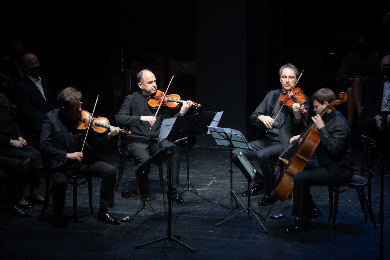 Čiurlionio kvartetas.<br>E.Kniežausko nuotr.