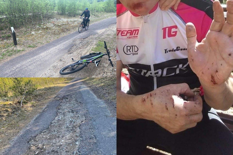 Jų teigimu, nenuostabu, kad dviratininkai iš Klaipėdos vis dažniau renkasi kitą dviračių takų kryptį – į Palangą.<br>lrytas.lt fotomontažas