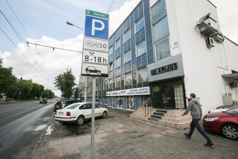 Reaguojant į kauniečių prašymus bei nusiskundimus, artėjančiame Kauno miesto savivaldybės tarybos posėdyje bus siūloma plėsti apmokestintas teritorijas.<br>G.Bitvinsko nuotr.