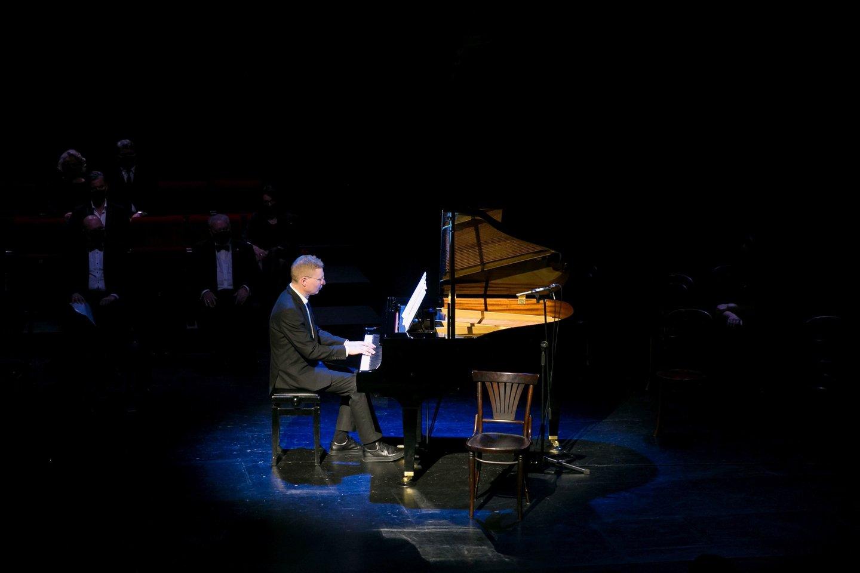 Vakaras, skirtas kompozitoriaus Fausto Latėno atminimui.<br>T.Bauro nuotr.