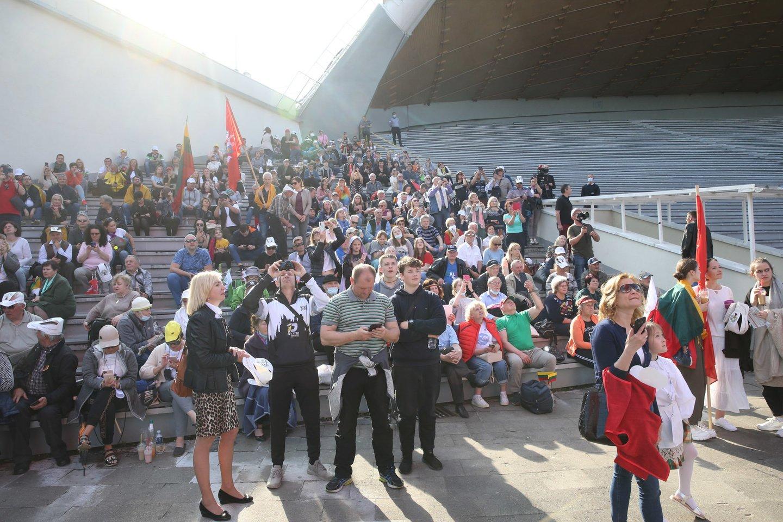 Didysis šeimų maršas.<br>R.Danisevičiaus nuotr.