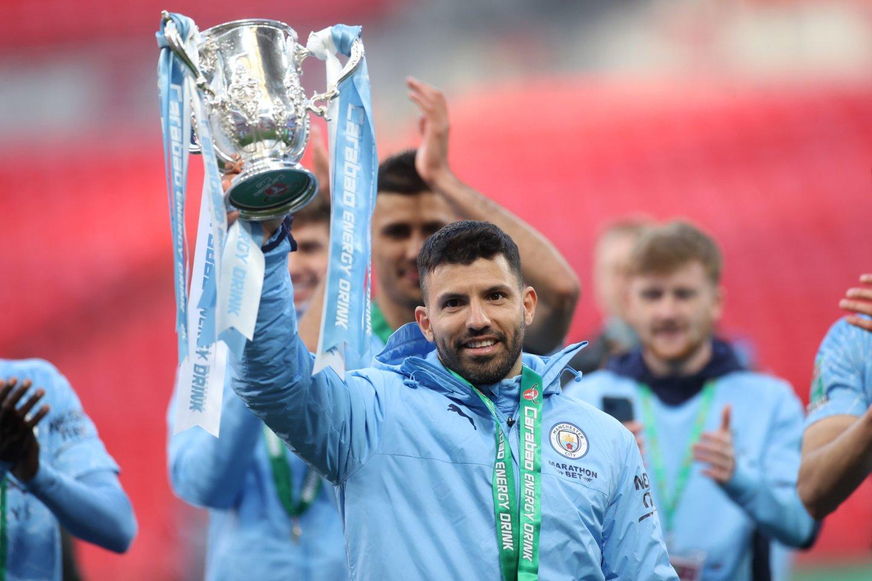 """Manchester City"" susigrąžino čempionų laurus Anglijoje<br>Reuters/Scanpix.com nuotr."