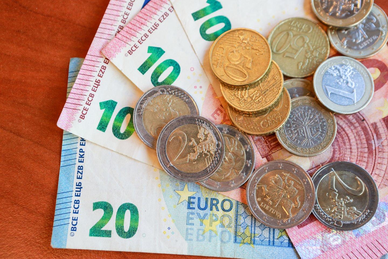 Pasak pranešimo, padidinus NPD, asmenys, uždirbantys MMA, per metus gautų maždaug 120 eurų didesnes pajamas.<br>G.Bitvinsko nuotr.
