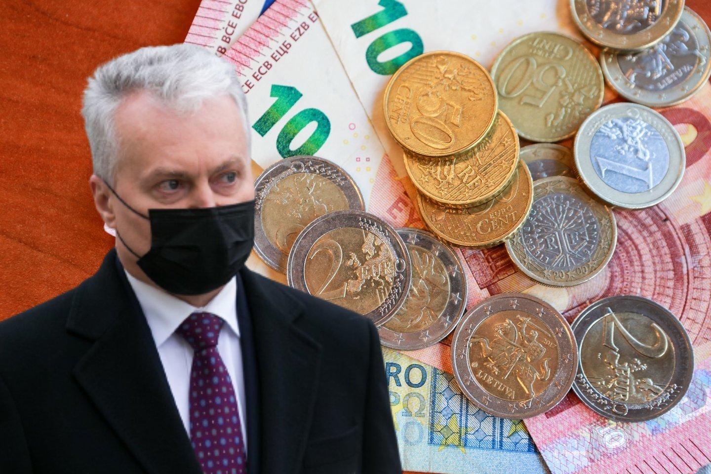 Pasak pranešimo, padidinus NPD, asmenys, uždirbantys MMA, per metus gautų maždaug 120 eurų didesnes pajamas.<br>Lrytas.lt fotomontažas