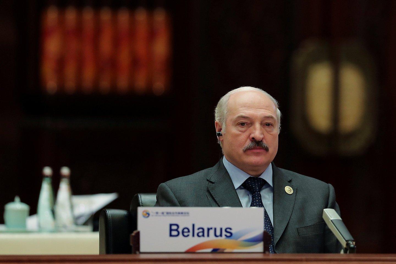 A.Lukašenka pradėjo dar vieną spaudimą Lietuvai.<br>Reuters/Scanpix nuotr.