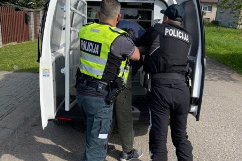 Per savaitę Kelių patrulių kuopos pareigūnai mobiliaisiais greičio matavimo prietaisais užfiksavo 714 greičio viršijimo atvejų.<br>Pranešėjų spaudai nuotr.