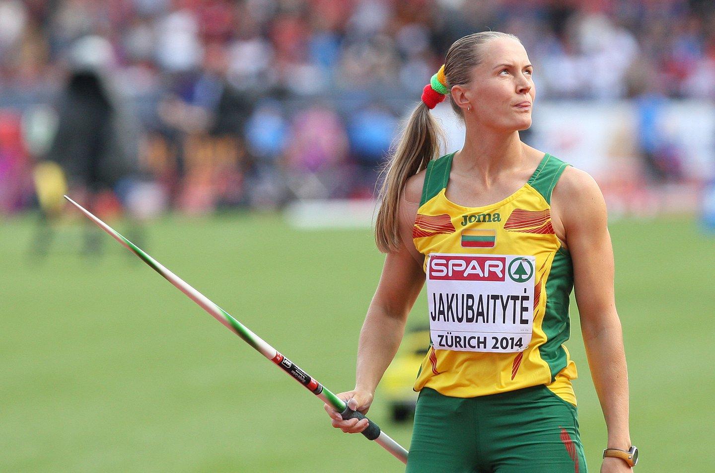 I.Jakubaitytė pagerino pasaulio rekordą.<br>I.Sidarevičiaus nuotr.