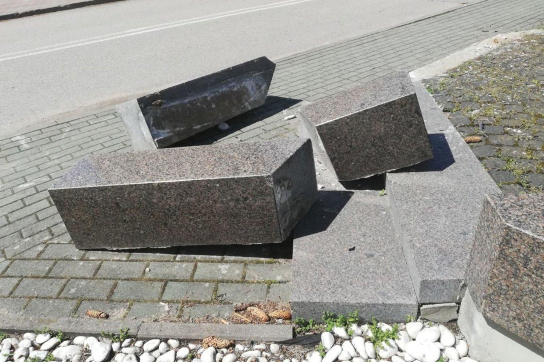 Nuniokotas A.Baranausko paminklas.<br>punskas.pl nuotr.