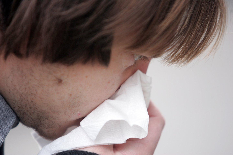 Lietuvoje prasidėjo paskutinė gripo sezono savaitė.<br>T.Bauro nuotr.