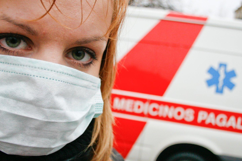 Lietuvoje prasidėjo paskutinė gripo sezono savaitė.<br>K.Kavolėlio nuotr.