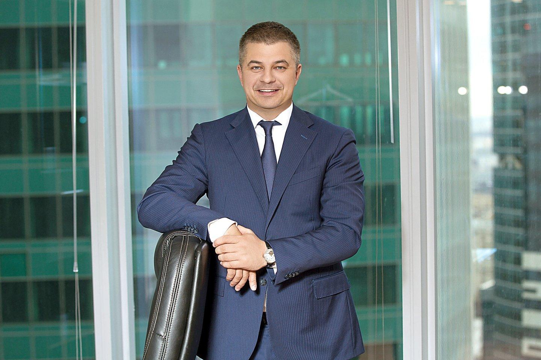 """""""Avia Solutions Group"""" valdybos pirmininkas Gediminas Žiemelis."""