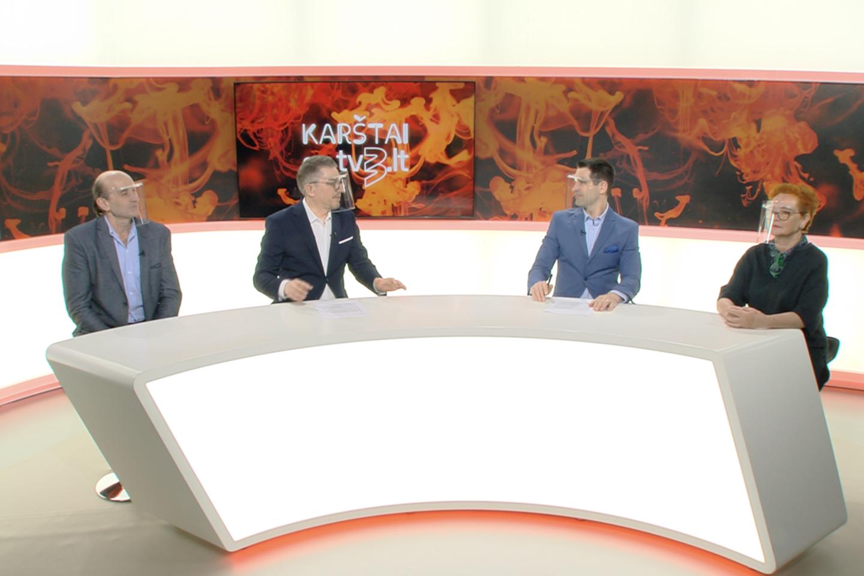 Darius Trečiakauskas, Mindaugas Sėjunas, Artūras Anužis ir Nijolė Oželytė.<br>TV3 nuotr.