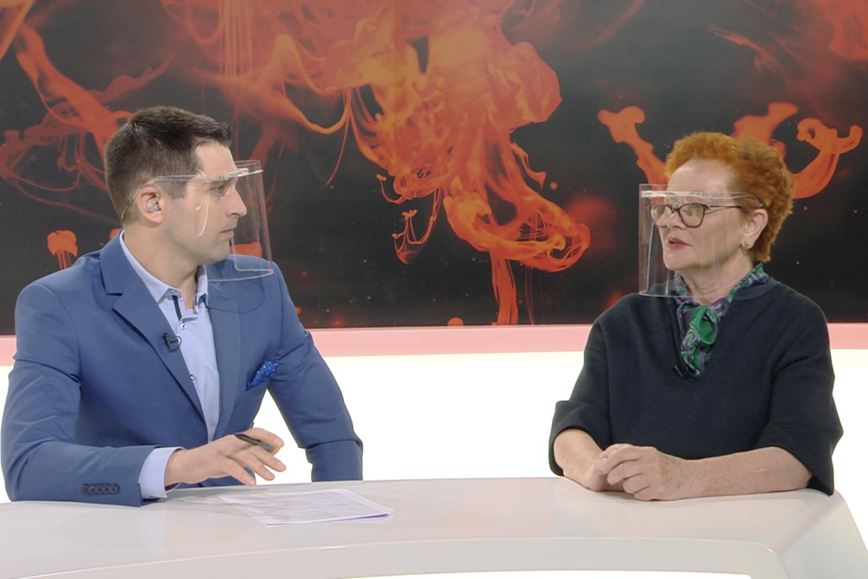 Artūras Anužis ir Nijolė Oželytė.<br>TV3 nuotr.