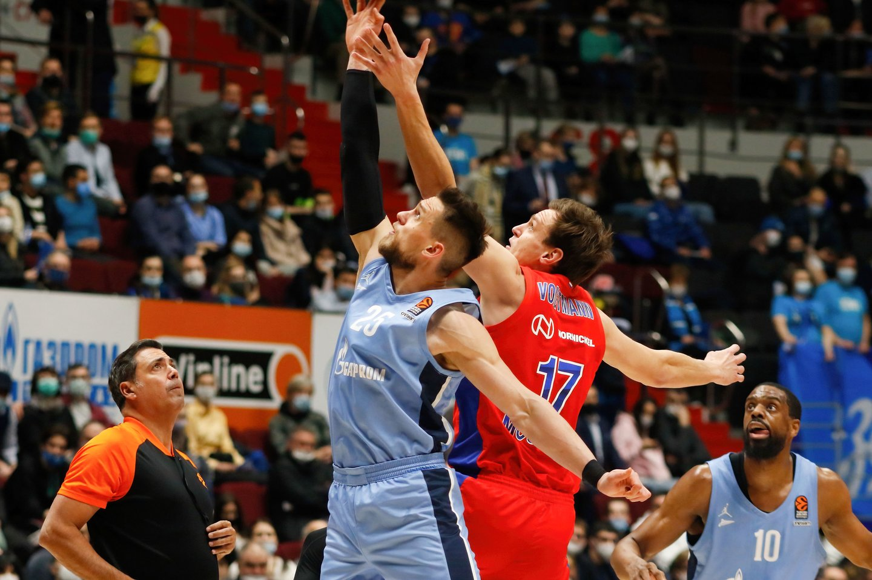 Vieningosios lygos pusfinalio serija prasidėjo CSKA pergale.<br>ZUMAPRESS/Scanpix nuotr.