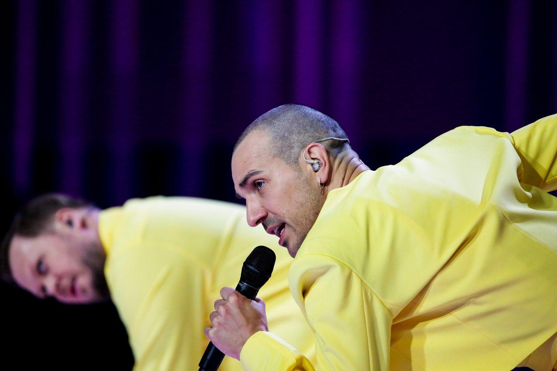 """""""The Roop"""" pasirodymas per antrąją repeticiją.<br>EBU/ THOMAS HANSES nuotr."""