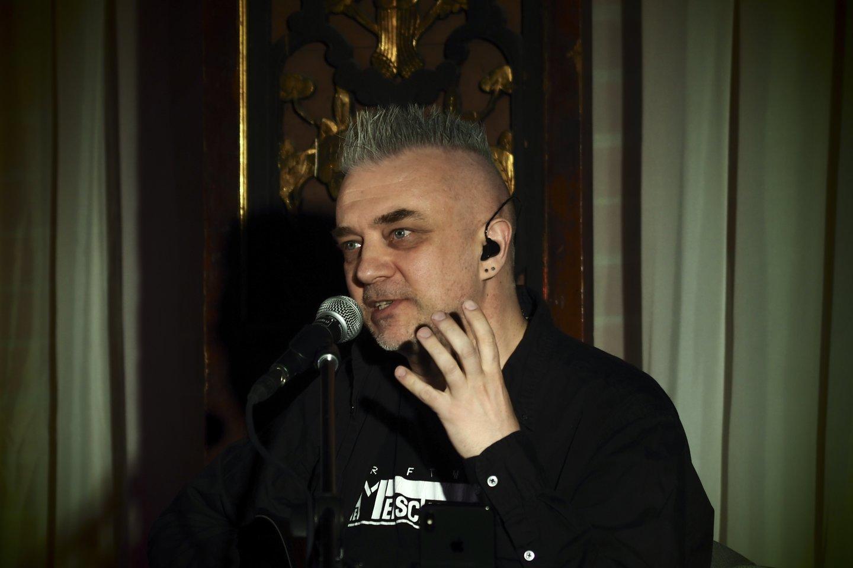 Andrius Mamontovas.<br>LR archyvo nuotr.
