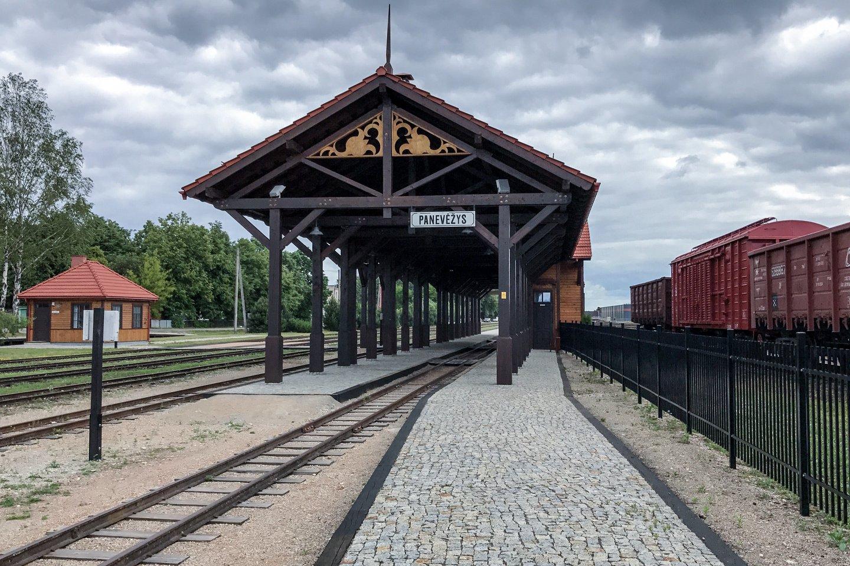"""""""Aukštaitijos siaurajam geležinkeliui"""" ieškoma naujo vadovo.<br>V.Ščiavinsko nuotr."""
