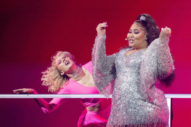 """Maltos atstovė """"Eurovizijoje"""".<br>eurovision.tv nuotr."""
