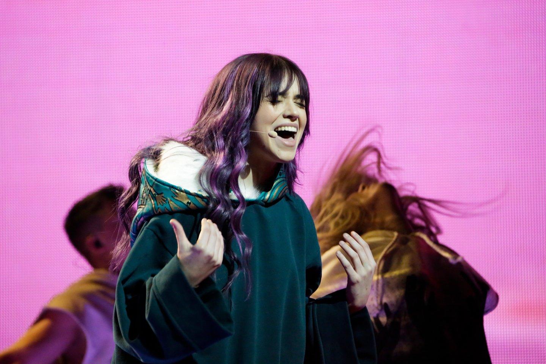 """Rumunijai """"Eurovizijoje"""" atstovaujanti ROXEN.<br>eurovision.tv nuotr."""