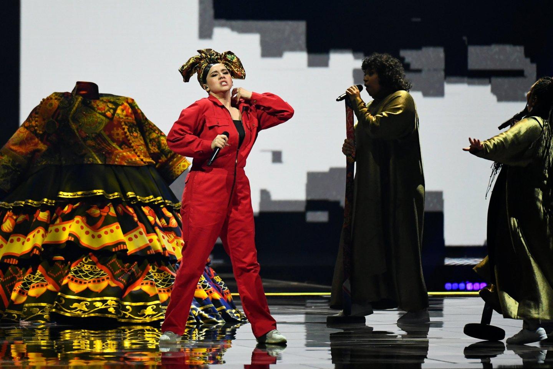 Rusijos pasirodymas.<br>Scanpix nuotr.