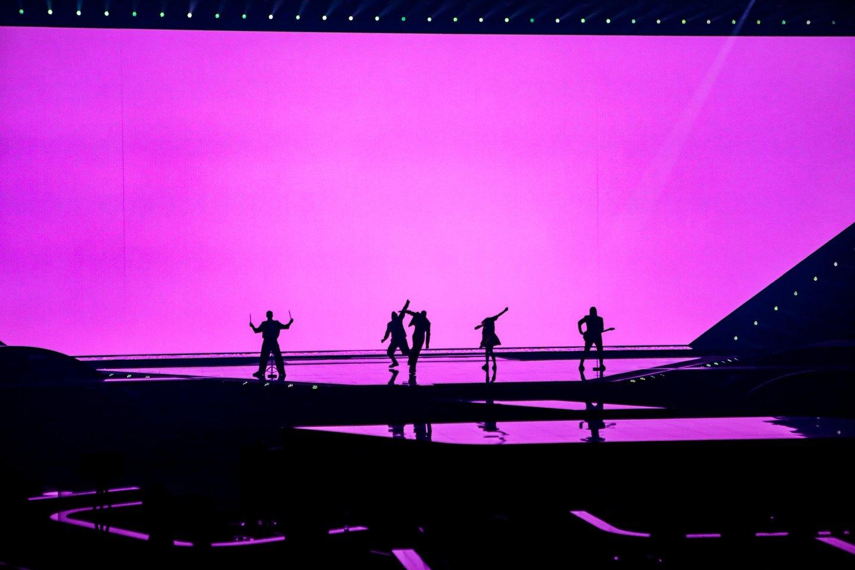 """""""The Roop"""" pasirodymas """"Eurovizijos"""" pusfinalyje.<br>EBU/ THOMAS HANSES nuotr."""