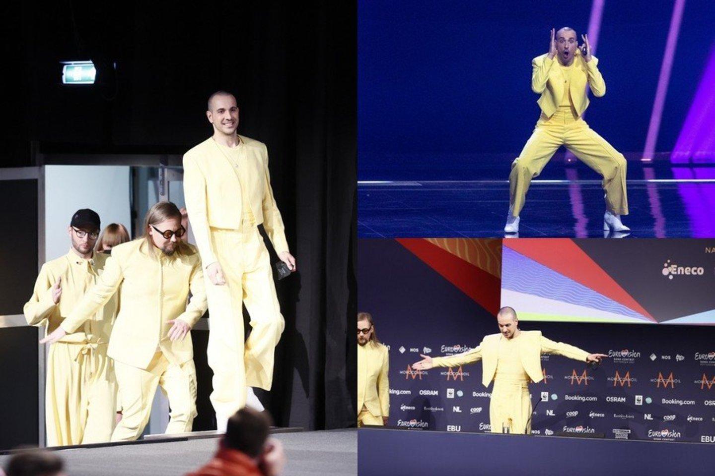 """""""The Roop"""" sužibėjo pirmajame """"Eurovizijos"""" pusfinalyje.<br>Lrytas.lt koliažas."""