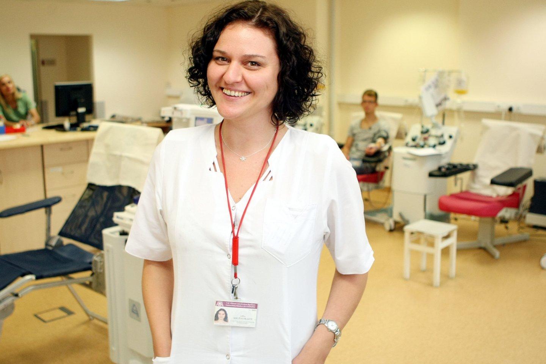 gydytoja Lina Kryžauskaitė<br>R.Danisevičiaus nuotr.