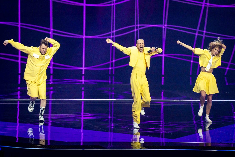 """Portalas lrytas.lt kreipiasi į savo lankytojus užsienyje bei Lietuvoje, kviesdamas palaikyti grupę """"The Roop"""" finale!<br>Scanpix nuotr."""