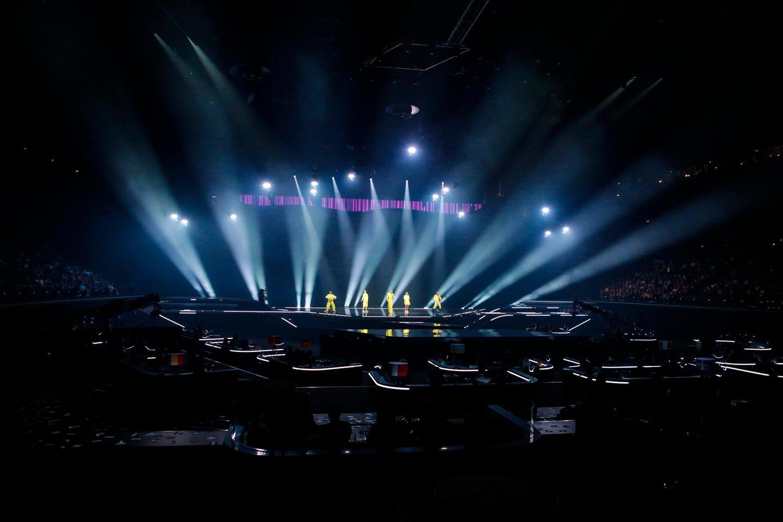 """Portalas lrytas.lt kreipiasi į savo lankytojus užsienyje bei Lietuvoje, kviesdamas palaikyti grupę """"The Roop"""" finale!<br>EBU/ THOMAS HANSES nuotr."""
