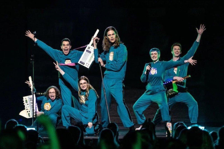 """Vienoje iš """"Eurovizijos"""" delegacijų įsisuko COVID-19: užkirto kelią scenoje gyvai pasirodyti.<br>Twitter nuotr."""