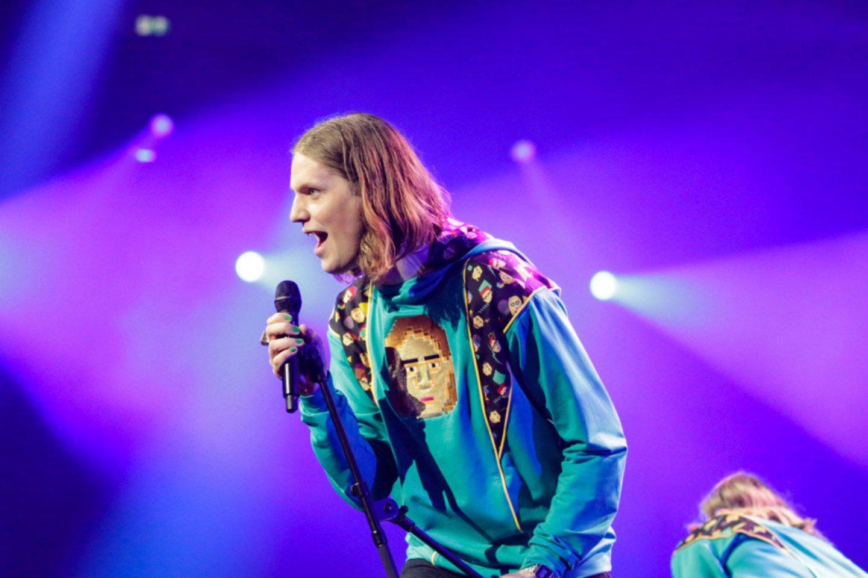 """Vienoje iš """"Eurovizijos"""" delegacijų įsisuko COVID-19: užkirto kelią scenoje gyvai pasirodyti.<br>EBU/Thomas Hanses nuotr."""