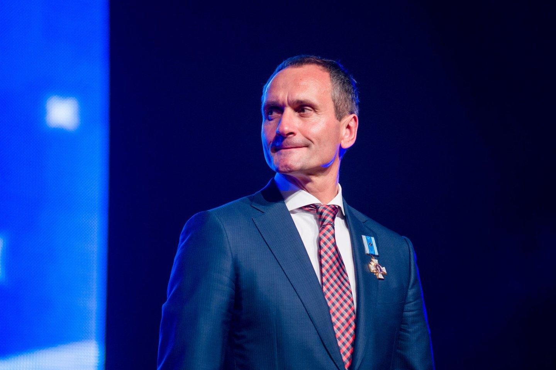Klaipėdos konteinerių terminalo generalinis direktorius Vaidotas Šileika.<br>J.Stacevičiaus nuotr.