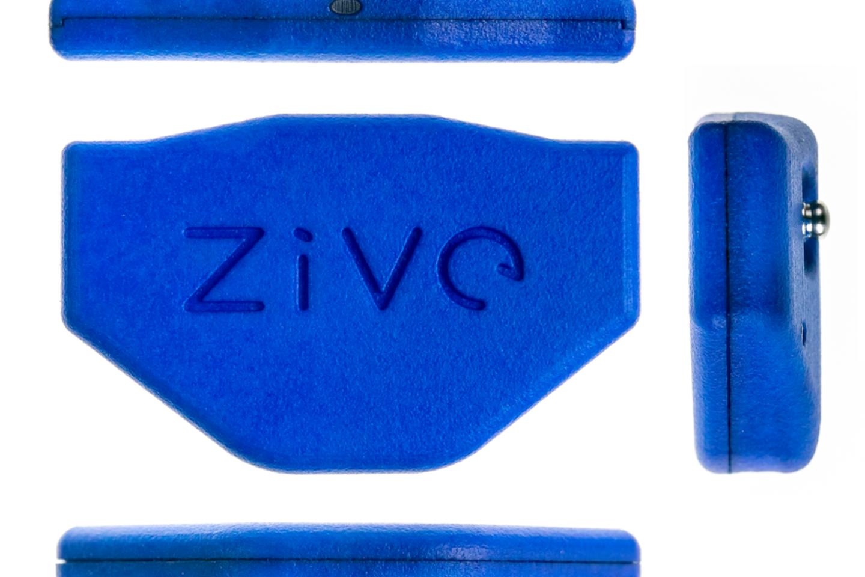 """""""Zive"""" medicinos prietaisas širdies veiklai stebėti."""