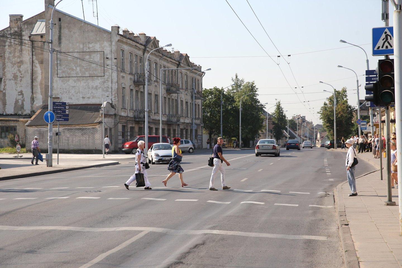 Kalvarijų gatvė.<br>R.Danisevičiaus nuotr.