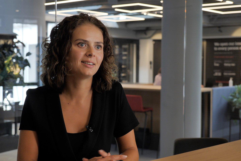 """Rizikos kapitalo fondo """"Coinvest Capital"""" direktorė Viktorija Vaitkevičienė."""
