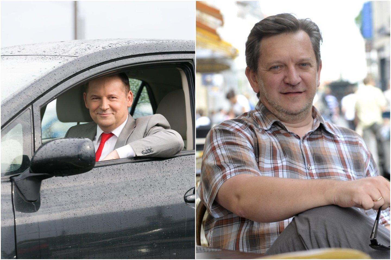 R.Petkevičius ir G.Deksnys.<br>Lrytas.lt fotomontažas.