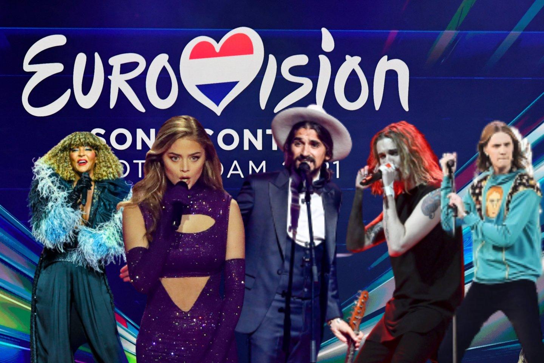 """Paaiškėjo, su kuo """"The Roop"""" grumsis """"Eurovizijos"""" finale<br>Lrytas.lt koliažas."""