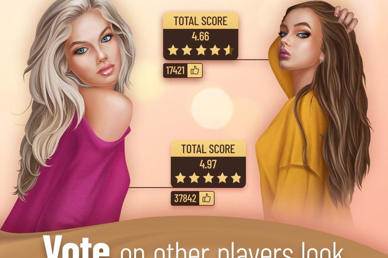 """Kompiuterinius žaidimus kurianti Lietuvos kompanija """"Nordcurrent"""" pristato naują žaidimą – """"Pocket Styler"""".<br>""""Nordcurrent"""" iliustr."""