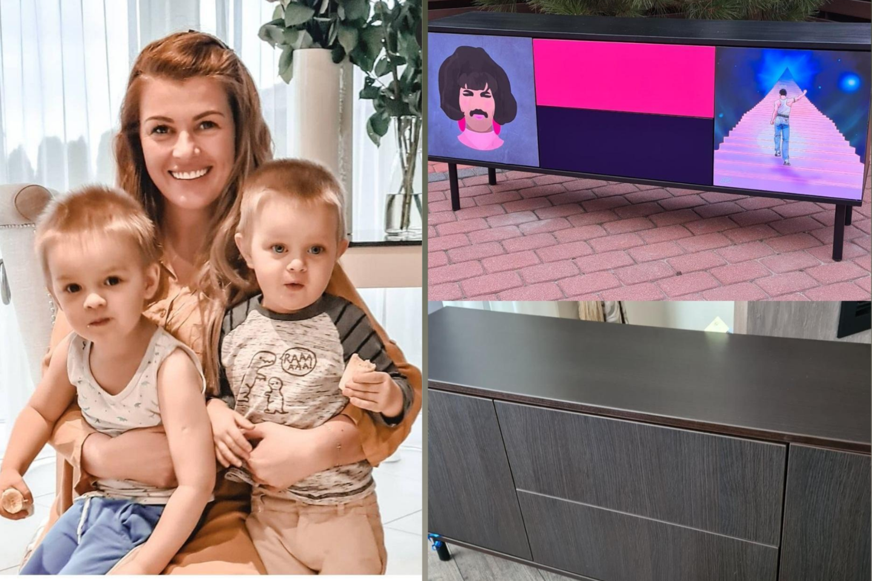 Augindama pametinukus sūnus Marina vysto savo dažų verslą.<br>lrytas.lt koliažas