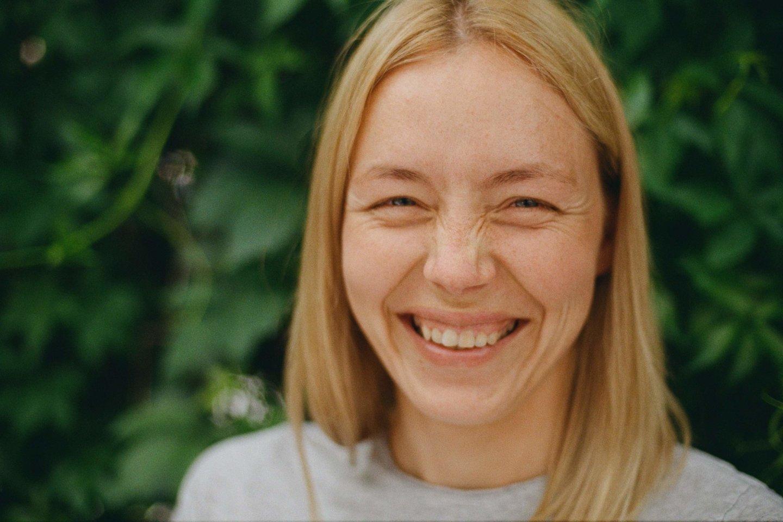 """""""Teachers Lead Tech"""" įkūrėja Monika Katkutė-Gelžinė."""