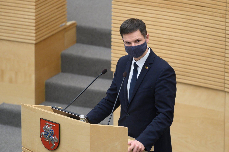 Paulius Saudargas.<br>V.Skaraičio nuotr.