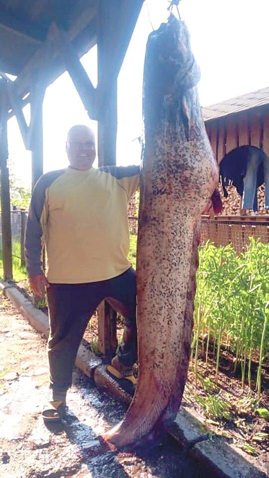 Rokiškėnas Skirmantas Spundzevičius, kuris žvejoja jau daugiau nei 35 metus, sugavo savo gyvenimo žuvį.
