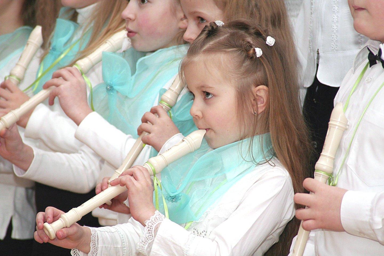 Muzikinio ugdymo praradimas pradinėse klasėse gresia liūdnomis pasekmėmis.<br>G.Šiupario nuotr.