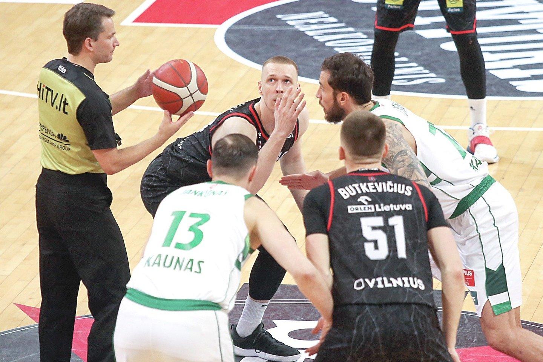 Daugiausia komandų nacionalinėse krepšinio lygose atstovauja dviem didžiausiems šalies miestams: Kaunui – šešios, Vilniui – penkios.<br>R.Danisevičiaus nuotr.